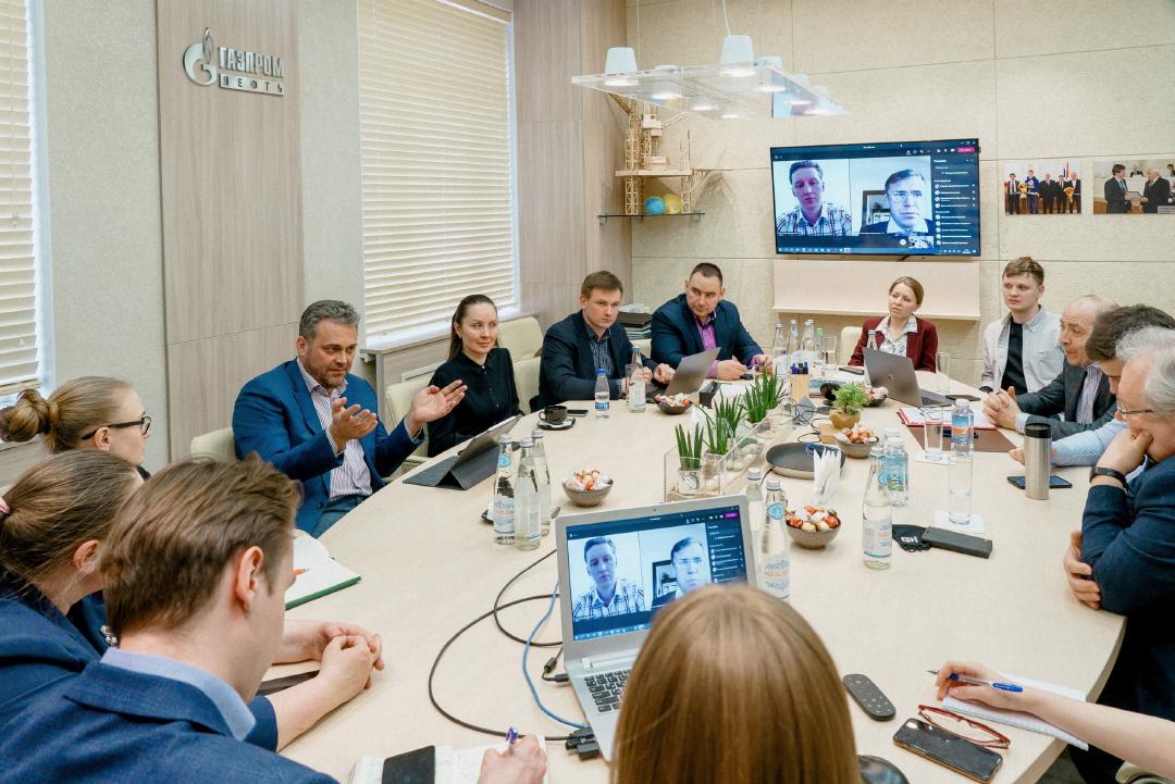 В НОЦ «Газпромнефть-Политех» обсудили развитие сотрудничества СПбПУ и «Газпром нефти»